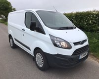 2014 FORD TRANSIT CUSTOM 290 ECONETIC LR P/V £7495.00