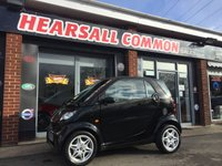 USED 2007 07 SMART FORTWO 0.7 PURE SOFTIP 2d AUTO 61 BHP