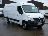 USED 2015 65 RENAULT MASTER 2.3DCi  MML35 BUSINESS 125 BHP FINANCE AVAILABLE