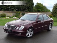 USED 2002 62 MERCEDES-BENZ E CLASS 5.0 E500 AVANTGARDE 4d AUTO 306 BHP 1 OWNER LOW MILEAGE SUNROOF