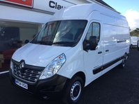 2015 RENAULT MASTER  LH35 BUSINESS 2.3 DCI 125 6-Speed LWB High Roof £10995.00