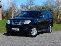 2005 NISSAN PATHFINDER 2.5 SVE DCI 5d AUTO 172 BHP £5970.00