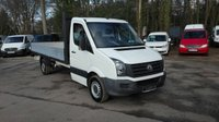 USED 2015 15 VOLKSWAGEN LT CRAFTER 2.0 CR35 TDI DROPSIDE TRUCK Electric Pack, Cruise Control