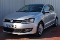 USED 2012 62 VOLKSWAGEN POLO 1.2 MATCH 5d 59 BHP DEALER FULL SERVICE HISTORY