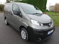 2015 NISSAN NV200 ACENTA 1.5 DCI  90Ps £7995.00