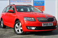 USED 2015 65 SKODA OCTAVIA 1.6 SE TDI 5d 109 BHP ONE OWNER FROM NEW