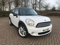 2013 MINI COUNTRYMAN 1.6 COOPER D 5d 112 BHP £9495.00