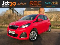 USED 2014 64 PEUGEOT 108 1.0 ACTIVE 5d 68 BHP Perfect Small Car / Good Miles