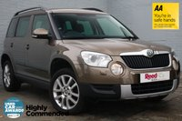 USED 2011 11 SKODA YETI 2.0 ELEGANCE TDI CR 170 5d 168 BHP FSH+HEATED LEATHER+CRUISE