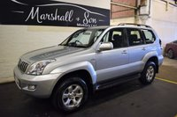 USED 2007 56 TOYOTA LAND CRUISER 3.0 LC3 8-SEATS D-4D 5d AUTO 164 BHP