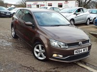 USED 2015 64 VOLKSWAGEN POLO 1.4 SEL TDI BLUEMOTION 3d 89 BHP Zero Road Tax