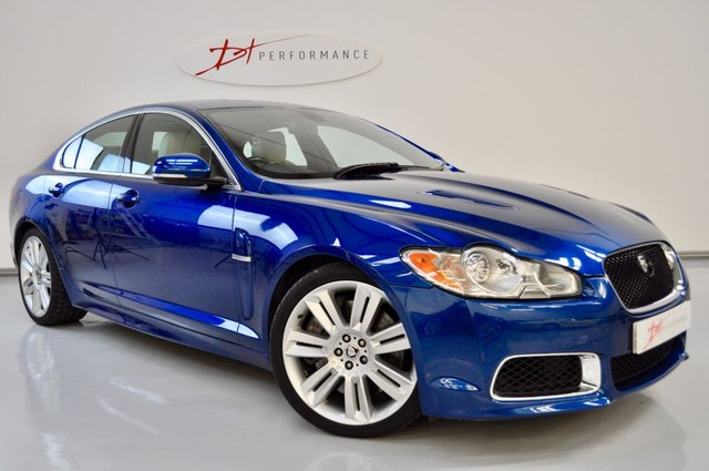 2010 60 JAGUAR XF 5.0 V8 R 4d AUTO 510 BHP STUNNING COLOUR AND SPECIFICATION