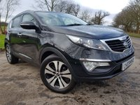 USED 2013 62 KIA SPORTAGE 1.7 CRDI 3 5d GLASS ROOF & LEATHER