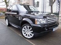 USED 2011 11 LAND ROVER RANGE ROVER SPORT 3.6 TDV8 HSE  *** FINANCE & PART EXCHANGE WELCOME *** SAT/NAV  BLUETOOTH PHONE HEATED FRONT WINDSCREEN  FULL LEATHER ELECTRIC SEATS PRIVACY GLASS