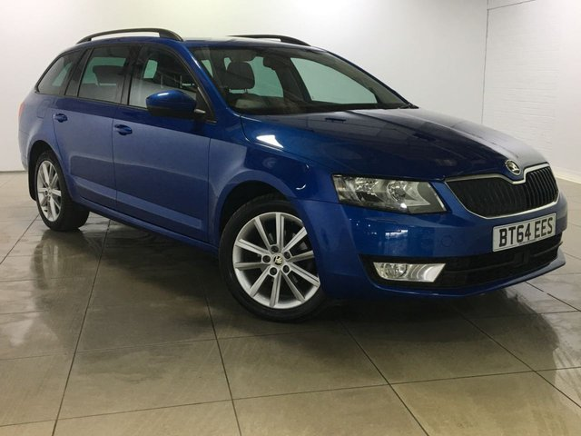 View our 2014 64 SKODA OCTAVIA 1.6 ELEGANCE TDI CR 5d 104 BHP