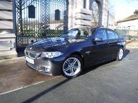 2014 BMW 5 SERIES 2.0 525D M SPORT 4d AUTO 215 BHP £15695.00