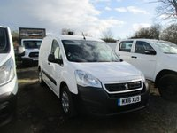 USED 2016 16 PEUGEOT PARTNER 1.6 HDI PROFESSIONAL 625 1d 92 BHP 16 16 partner professional 1.6 hdi in white peugeot warranty applies 2019 NOW 6450.00 PLUS VAT