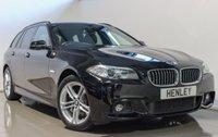 USED 2013 63 BMW 5 SERIES 2.0 525D M SPORT TOURING 5d AUTO 215 BHP