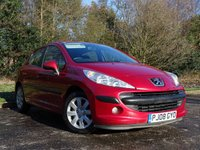 USED 2008 08 PEUGEOT 207 1.6 S HDI 5d 89 BHP FULL SERVICE HISTORY 11 STAMPS, FEB 2019