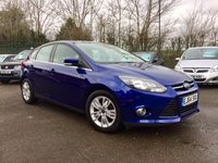 USED 2014 64 FORD FOCUS 1.6 TDCI TITANIUM NAVIGATOR  5d  LOW TAX AND EXCELLENT MPG NO DEPOSIT  FINANCE ARRANGED, APPLY HERE NOW