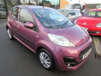 USED 2013 13 PEUGEOT 107 1.0 ACTIVE 5d 68 BHP 12 MONTHS MOT... 6 MONTHS WARRANTY... FREE ROAD TAX