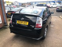 USED 2008 08 TOYOTA PRIUS 1.5 T SPIRIT VVT-I 5 DOOR AUTO 77 BHP IN BLACK IN IMMACULATE CONDITION. APPROVED CARS ARE PLEASED TO OFFER THIS TOYOTA PRIUS 1.5 T SPIRIT VVT-I 5 DOOR AUTO 77 BHP IN BLACK IN IMMACULATE CONDITION INSIDE AND OUT WITH A FULL TOYOTA MAIN DEALER SERVICE HISTORY WITH BILL AND A STAMPED SERVICE BOOK.