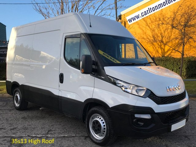 2015 64 IVECO-FORD DAILY 2.3 35S13 High Roof panel van 3520wb Ex Lease Free UK Delivery