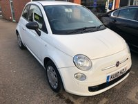 USED 2010 10 FIAT 500 1.2 POP 3 DOOR 69 BHP IN WHITE IN GREAT CONDITION. APPROVED CARS ARE PLEASED TO OFFER THIS FIAT 500 1.2 POP 3 DOOR 69 BHP IN WHITE IN GREAT CONDITION WITH A DOCUMENTED SERVICE HISTORY AN IDEAL FIRST CAR OR GENERAL RUNAROUND.