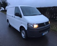 2012 VOLKSWAGEN TRANSPORTER T28 TDI BLUEMOTION TECHNOLOGY £8995.00