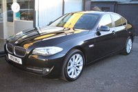 2011 BMW 5 SERIES 2.0 520D SE 4d 181 BHP £10494.00