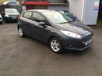 USED 2015 15 FORD FIESTA 1.5 ZETEC TDCI 5d 74 BHP DIESEL, ROAD TAX £0.00 PER YR, BLUETOOTH, ALLOYS, HEATED SCREEN