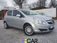 USED 2010 VAUXHALL CORSA 1.4 EXCLUSIV A/C 5d 98 BHP 2 PREVIOUS OWNERS