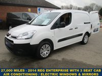 2014 CITROEN BERLINGO 625 ENTERPRISE WITH AIR-CON & FULL ELECTRIC PACK £6495.00