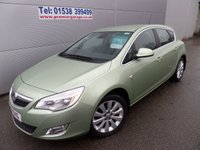 USED 2011 11 VAUXHALL ASTRA 1.6 ELITE 5d 113 BHP LOW MILEAGE, FULL LEATHER, AIR CON