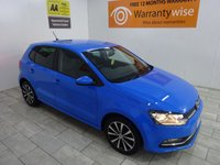 USED 2016 16 VOLKSWAGEN POLO 1.2 MATCH TSI 5d 89 BHP