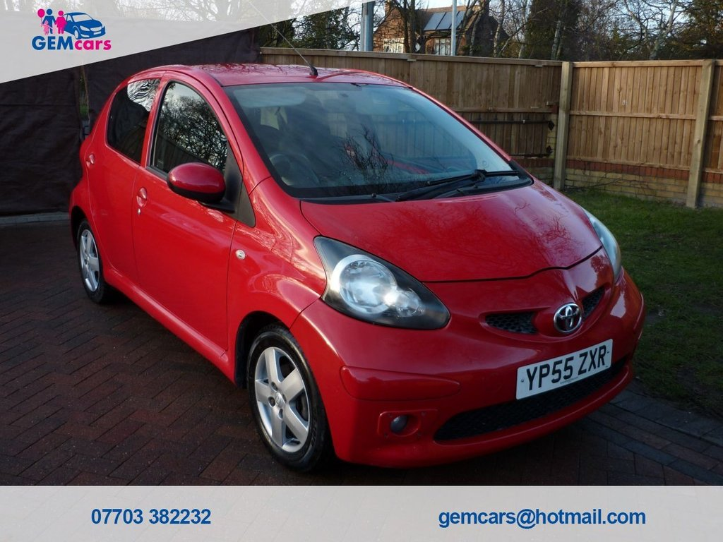 USED 2005 55 TOYOTA AYGO 1.0 SPORT VVT-I 5d 67 BHP GO TO OUR WEBSITE TO WATCH A FULL WALKROUND VIDEO