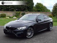USED 2017 17 BMW M4 3.0 M4 COMPETITION PACKAGE 2d AUTO 444 BHP VAT Q