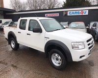 USED 2008 08 FORD RANGER 2.5 DOUBLE CAB 4X4 4d 141 BHP