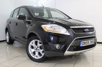 USED 2010 59 FORD KUGA 2.0 ZETEC TDCI 2WD 5DR 134 BHP FULL SERVICE HISTORY + PARKING SENSOR + AIR CONDITIONING + RADIO/CD + 17 INCH ALLOY WHEELS