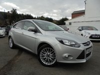 USED 2013 63 FORD FOCUS 1.6 ZETEC TDCI 5d 113 BHP ***FULL MAIN DEALER HISTORY***