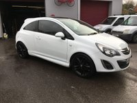 2013 VAUXHALL CORSA 1.2 LIMITED EDITION 3d 83 BHP £SOLD