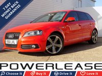 2011 AUDI A3 2.0 SPORTBACK TDI S LINE SPECIAL EDITION 5d 138 BHP £5989.00