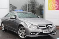USED 2011 11 MERCEDES-BENZ E CLASS 3.0 E350 CDI BLUEEFFICIENCY SPORT 2d AUTO 231 BHP