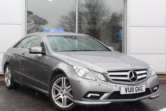 2011 MERCEDES-BENZ E CLASS 3.0 E350 CDI BLUEEFFICIENCY SPORT 2d AUTO 231 BHP £13889.00