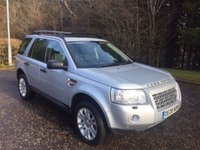 USED 2008 08 LAND ROVER FREELANDER 2 2.2 TD4 HSE 5d AUTO 159 BHP 4x4 6 MONTHS PARTS+ LABOUR WARRANTY+AA COVER