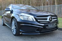 USED 2015 65 MERCEDES-BENZ A CLASS 1.5 A180 CDI BLUEEFFICIENCY AMG SPORT 5d 109 BHP LOW MILES, ONE LADY OWNER & FULL MERCEDES HISTORY!!!