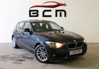 2012 BMW 1 SERIES 1.6 116D EFFICIENTDYNAMICS 5d 114 BHP £6985.00