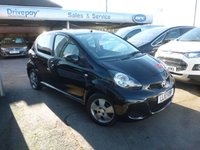 USED 2010 10 TOYOTA AYGO 1.0 BLACK VVT-I 5d 67 BHP NEED FINANCE? WE STRIVE FOR 94% ACCEPTANCE