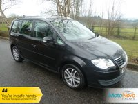 USED 2007 07 VOLKSWAGEN TOURAN 1.4 SE TSI 5d 140 BHP Fantastic One Owner Petrol Engine Volkswagen Touran with Seven Seats, Air Conditioning, Alloy Wheels and Volkswagen Service History