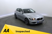 USED 2014 64 BMW 1 SERIES 1.6 116D EFFICIENTDYNAMICS 5d 114 BHP PARKING SENSORS - BLUETOOTH